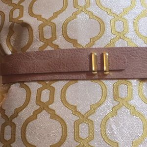 ADA leather belt size large